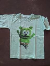 Camisas sublimadas de todas as idades