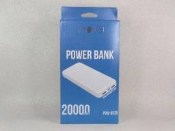 PowerBank, carregadores e cabos (Lightning, tipo C, V8)