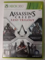 Assassin's Creed original 3 em 1 Trilogia Ezio - Xbox 360