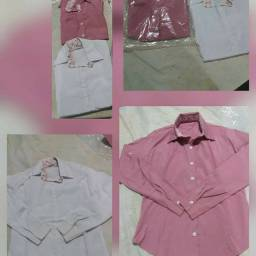 Leve 2 Camisa Social Tam.M p/ Apenas 27R$