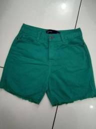 Shorts jeans Hering Tam 36, como novo