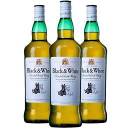 Whisky Black white - 40 reais