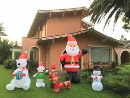 Decoração Natal infláveis