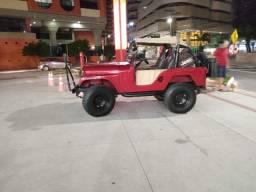 Jeep willys 1975 - Não é wrangler