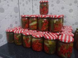 Pimentas Malaguetas em Conservas