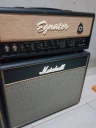 Amplificador valvulado guitarra