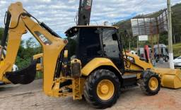 Título do anúncio: Retro Escavadeira Caterpillar 416F 2018.Cabine Fechada 4x4