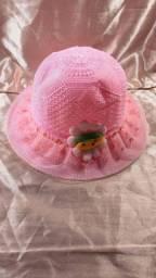 Chapéu de palha infantil