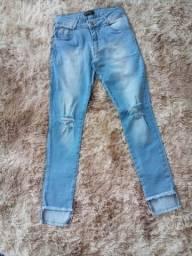 Título do anúncio: Calsa jeans infantil Tamanho 14
