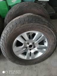 jogo de pneus +jogo de rodas 05 furos aro 17