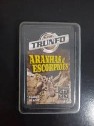 Título do anúncio: Super Trunfo ANTIGO - Aranhas e Escorpiões