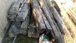 Dormentes em madeira de lei RAROS