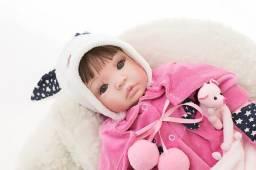 Bebê Reborn Hora Do Banho 100% Silicone