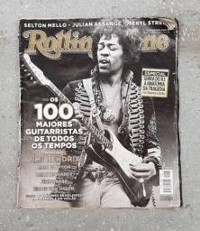 Revista Rolling Stone Usada - 100 Maiores Guitarristas em Jaboatão/Pe