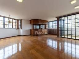Apartamento com 4 quartos para alugar, 284m² por R$ 4.500/mês no Cambuí - Campinas/SP