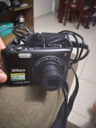 Título do anúncio: Máquina digital Nikon Coolpix  Que e 6x zoom 16.0 megapixels