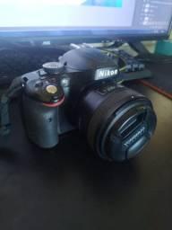 Câmera Nikon D5100 +50mm
