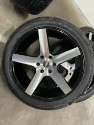 Título do anúncio: Rodas 22? pneus novos!