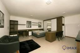 Apartamento com 1 dormitório para alugar, 45 m² por R$ 1.300,00/mês - Centro - Foz do Igua