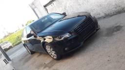 Audi a4 2.0T 2011 bancada bege teto solar top de linha