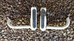 Par jogo de batentes com poleiro do para-choque traseiro Kombi corujinha