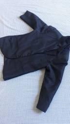 Título do anúncio: Blazer infantil preto tamanho n°5