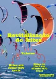 Título do anúncio:  Revitalização / resinagem de kitesurf. O número 1 do Nordeste