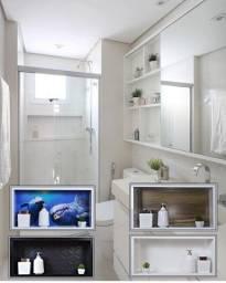 Nicho Para Banheiro - Gabinete - Box em Porcelanato