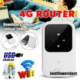 Roteador mobile Wi-Fi 4g LTE. Venda ou troca com sdd acima de 400gb