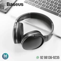 Título do anúncio: Fone de ouvido Headset Bluetooth D02 Pro - 40h de reprodução (Faço entrega, aceito cartão)