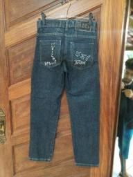 Título do anúncio: Calça jeans xizel  tamanho 10,