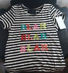 Camisa feminina Shoulder