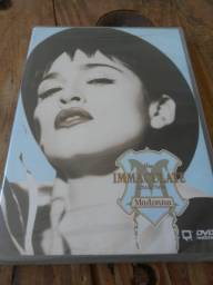 Dvd Madonna The Immaculate Collection reembaldo