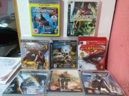 Jogos PS3 troca ou venda