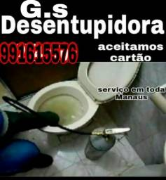 Título do anúncio: Desentupimento // vaso sanitario servido imediato