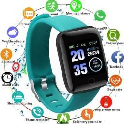 Título do anúncio: Smartwatch D13 Relógio Inteligente  116 Plus Ideal para praticar esportes