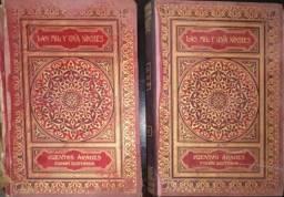 """Título do anúncio: Livro """"As Mil e Uma Noites"""" em Espanhol, Edição de 1915"""