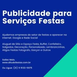Marketing Digital Para Serviços Festas