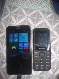 Hum Nokia Lumia e hum positivo p25 lea a descrição