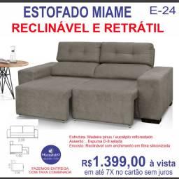 Sofá Retratil Miame 2,05M