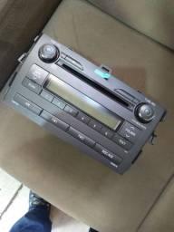 Rádio do Corolla 2012