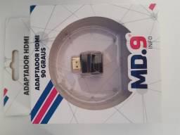 Título do anúncio: Adaptador HDMI em L curva para TV e notebook