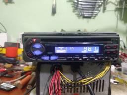 Funciona rádio e CD SEM SER MP3