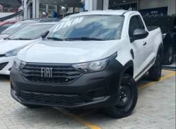 Fiat Strada 1.4 Eudurence Cabine Simple Flex completo.