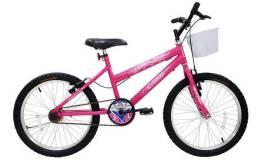 Bicicleta Nova Aro 20 Infantil MTB Feminina