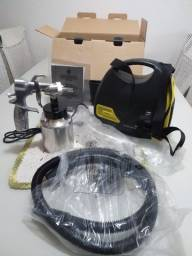 Título do anúncio: Vendo equipamento para pintura  compressor portátil