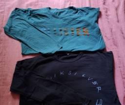 Camiseta e básica de lã