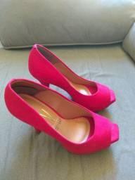 Sapato Vizzano - Vermelho - Tamanho 34