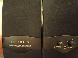 Título do anúncio: Caixa de som multimídia integris