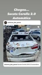 Sucata Corolla 2.0 automático